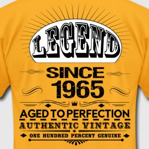 LEGEND SINCE 1965 T-Shirts - Men's T-Shirt by American Apparel