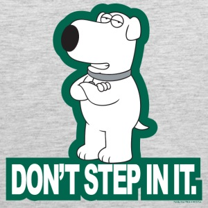 Family Guy Don't Step In It! - Men's Premium Tank