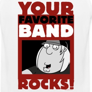 Family Guy Your Favorite Band Rocks - Men's Premium Tank