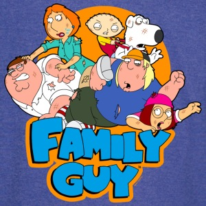Family Guy Characters - Vintage Sport T-Shirt