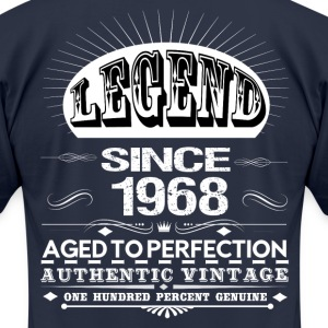 LEGEND SINCE 1968 T-Shirts - Men's T-Shirt by American Apparel