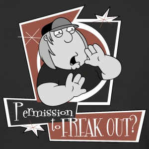 Family Guy Permission to Freak Out - Baseball T-Shirt