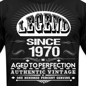LEGEND SINCE 1970 T-Shirts - Men's T-Shirt by American Apparel