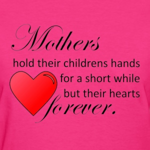 Mother hold hearts forever Women's T-Shirts - Women's T-Shirt