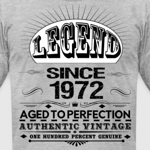 LEGEND SINCE 1972 T-Shirts - Men's T-Shirt by American Apparel