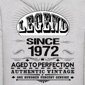 LEGEND SINCE 1972 Hoodies - Men's Hoodie