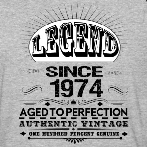 LEGEND SINCE 1974 T-Shirts - Baseball T-Shirt