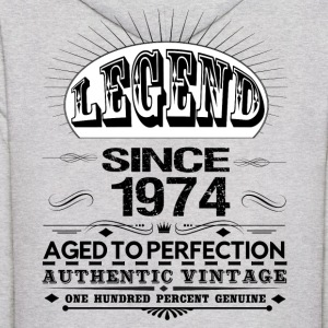 LEGEND SINCE 1974 Hoodies - Men's Hoodie