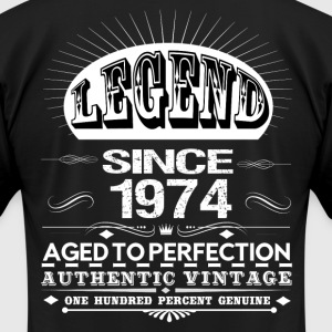 LEGEND SINCE 1974 T-Shirts - Men's T-Shirt by American Apparel
