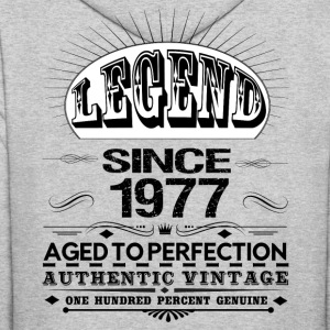 LEGEND SINCE 1977 Hoodies - Men's Hoodie