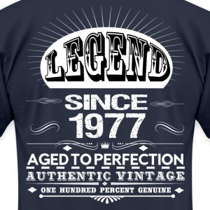 LEGEND SINCE 1977 T-Shirts - Men's T-Shirt by American Apparel