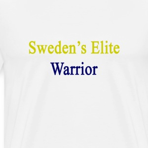swedens_elite_warrior T-Shirts - Men's Premium T-Shirt
