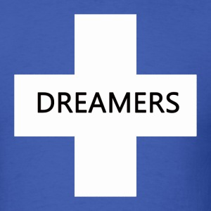 Dreamers tee blue/white - Men's T-Shirt