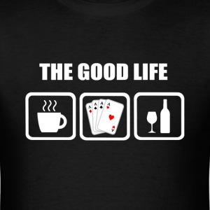 Card Player Funny Shirt - Men's T-Shirt
