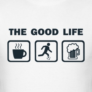 Coffee Soccer Beer - Men's T-Shirt