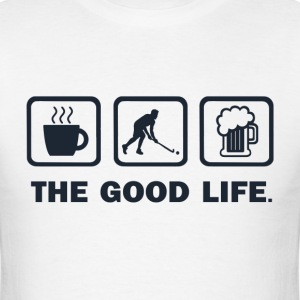 Coffe Hockey beer - Men's T-Shirt