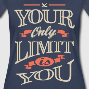 Limit Is You. Inspirational T-shirt - Women's Premium T-Shirt