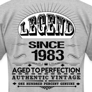 LEGEND SINCE 1983 T-Shirts - Men's T-Shirt by American Apparel