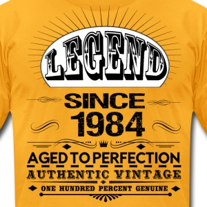 LEGEND SINCE 1984 T-Shirts - Men's T-Shirt by American Apparel