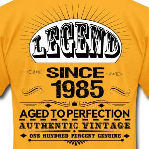 LEGEND SINCE 1985 T-Shirts - Men's T-Shirt by American Apparel
