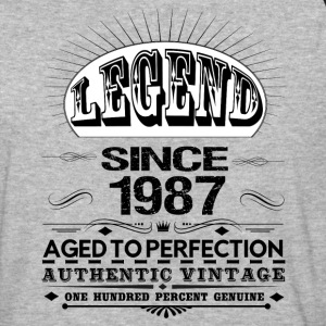 LEGEND SINCE 1987 T-Shirts - Baseball T-Shirt