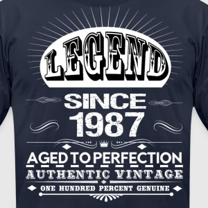 LEGEND SINCE 1987 T-Shirts - Men's T-Shirt by American Apparel
