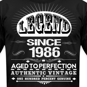 LEGEND SINCE 1986 T-Shirts - Men's T-Shirt by American Apparel