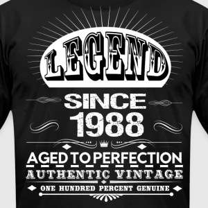 LEGEND SINCE 1988 T-Shirts - Men's T-Shirt by American Apparel