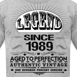 LEGEND SINCE 1989 T-Shirts - Men's T-Shirt by American Apparel