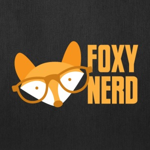 foxy nerd Bags & backpacks - Tote Bag
