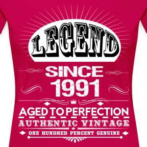 LEGEND SINCE 1991 Women's T-Shirts - Women's Premium T-Shirt