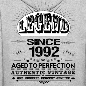 LEGEND SINCE 1992 Hoodies - Men's Hoodie