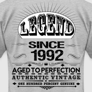 LEGEND SINCE 1992 T-Shirts - Men's T-Shirt by American Apparel
