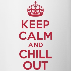 Keep calm and Chill out Mugs & Drinkware - Contrast Coffee Mug