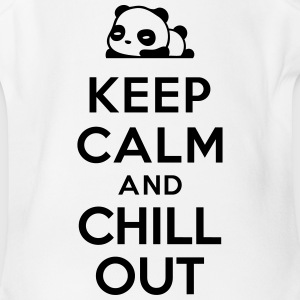Keep calm Chill out Baby Bodysuits - Short Sleeve Baby Bodysuit