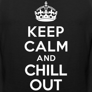Keep calm and Chill out Sportswear - Men's Premium Tank