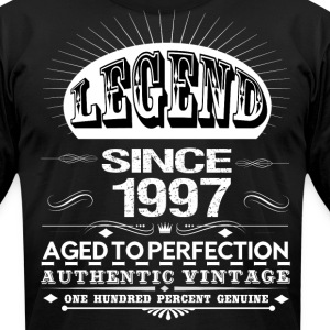 LEGEND SINCE 1997 T-Shirts - Men's T-Shirt by American Apparel