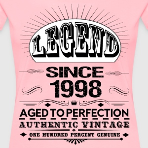 LEGEND SINCE 1998 Women's T-Shirts - Women's Premium T-Shirt