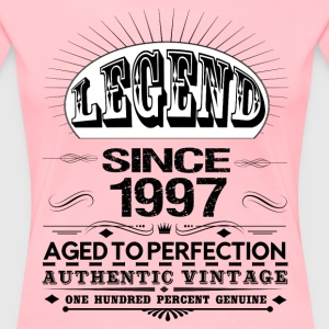 LEGEND SINCE 1997 Women's T-Shirts - Women's Premium T-Shirt