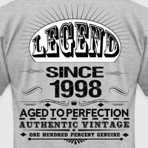 LEGEND SINCE 1998 T-Shirts - Men's T-Shirt by American Apparel