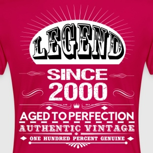 LEGEND SINCE 2000 Women's T-Shirts - Women's Premium T-Shirt