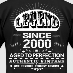 LEGEND SINCE 2000 T-Shirts - Men's T-Shirt by American Apparel