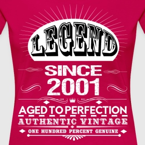 LEGEND SINCE 2001 Women's T-Shirts - Women's Premium T-Shirt