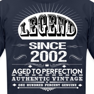 LEGEND SINCE 2002 T-Shirts - Men's T-Shirt by American Apparel