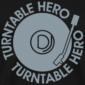 Turntable Hero T-Shirts - Men's Premium T-Shirt