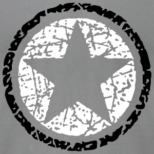 Vintage Star 1 T-Shirts - Men's T-Shirt by American Apparel