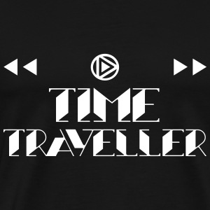 Time Traveller Symbols 1 T-Shirts - Men's Premium T-Shirt