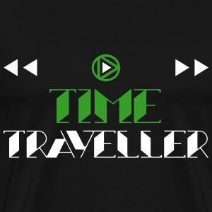 Time Traveller Symbols 2C T-Shirts - Men's Premium T-Shirt