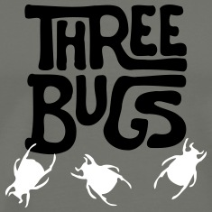 Three Bugs 2 T-Shirts