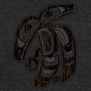 Baker Raven - Unisex Tri-Blend T-Shirt by American Apparel